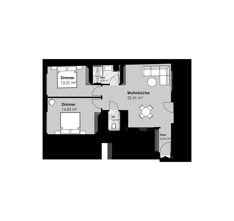 15. Sechshauser Straße 41 Top25