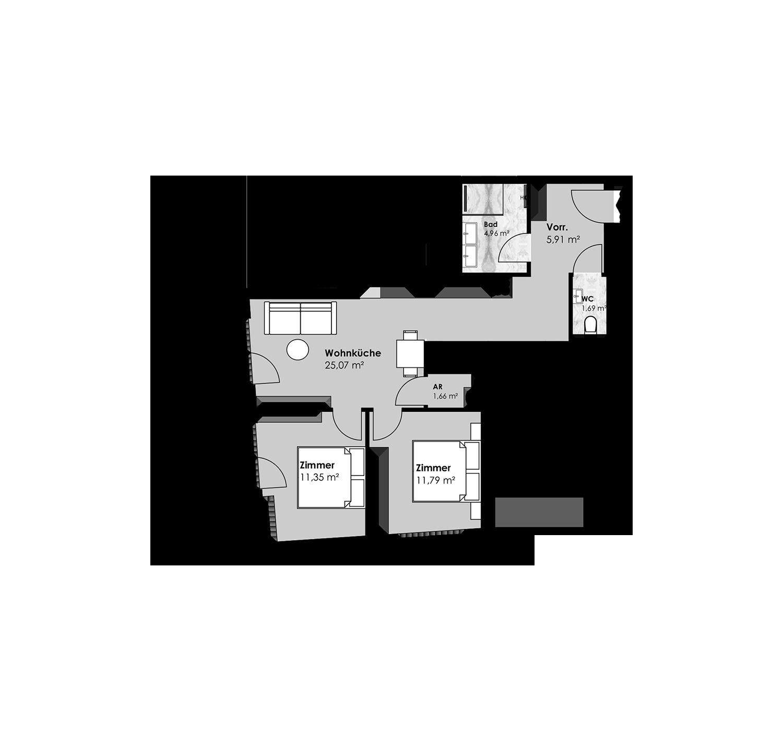 15. Sechshauser Straße 41 Top28